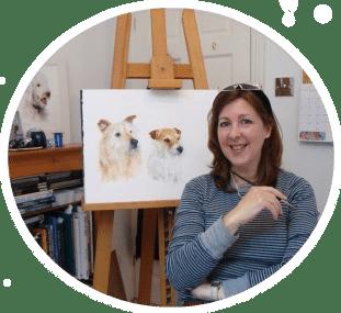 Claire Stallard Pet Portrait Artist